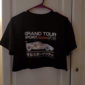 Brandy Melville grand tour sport japan crop top